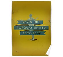 Kevin Hill - Torquay Poster