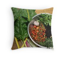 Homegrown goodness... Throw Pillow