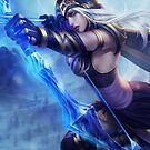 Ashe LoL by canozel