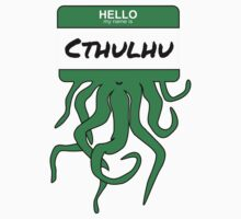 My Name is Cthulhu by shogunpete
