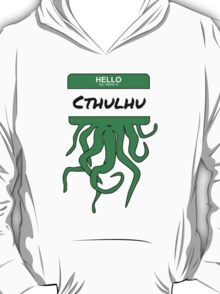 My Name is Cthulhu T-Shirt