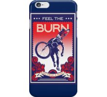 Feel the Burn retro cycling poster iPhone Case/Skin