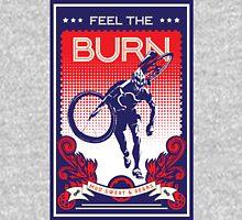 Feel the Burn retro cycling poster T-Shirt