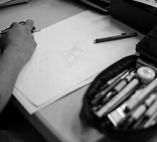 Sketchin' by Briar Richard
