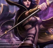 Leblanc League of Legends by gleviosa