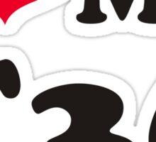 I love my E36 Sticker