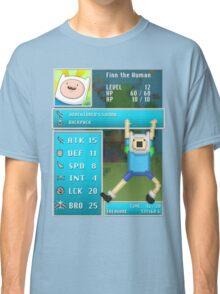 Finn PRG Stat Page Classic T-Shirt