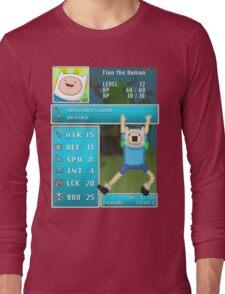 Finn PRG Stat Page Long Sleeve T-Shirt