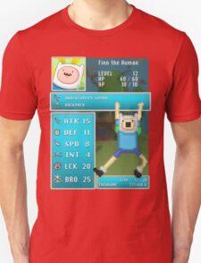 Finn PRG Stat Page Unisex T-Shirt