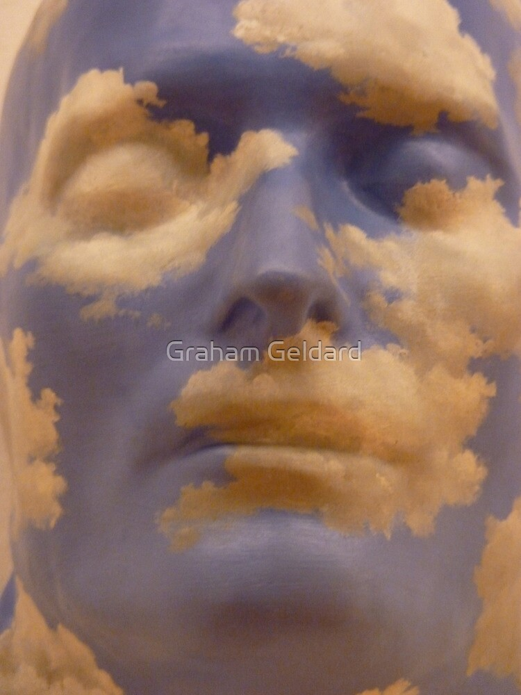 Rene Magritte - The Future Of Statues by Graham Geldard
