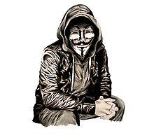 Anonymous Photographic Print