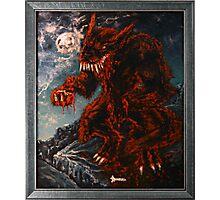 The Werewolf Thwlbr'x Photographic Print