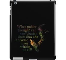 Nobler Thought - Neil DeGrasse Tyson iPad Case/Skin
