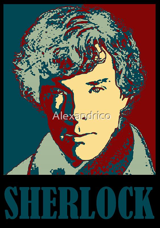 Sherlock Holmes Border by Alexandrico