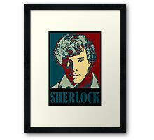 Sherlock Holmes Border Framed Print