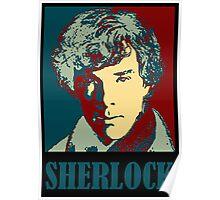 Sherlock Holmes Border Poster