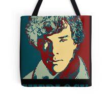Sherlock Holmes Border Tote Bag