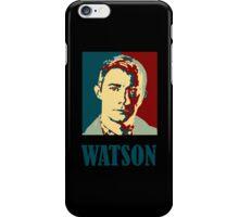 Sherlock Holmes Watson Border iPhone Case/Skin