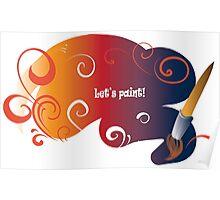 Let's paint! 2 Poster