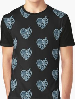 Bike Lover Heart x-ray  Graphic T-Shirt