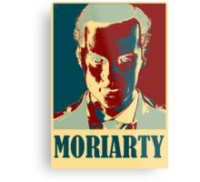 Sherlock Holmes Moriarty Metal Print