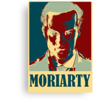 Sherlock Holmes Moriarty Canvas Print