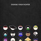 Choose Your Fighter - Minimal Poster by konman96
