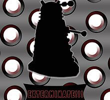 Dalek Exterminate by drwhobubble