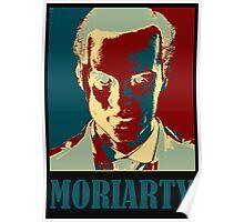 Sherlock Holmes Moriarty Border Poster