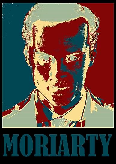 Sherlock Holmes Moriarty Border by Alexandrico