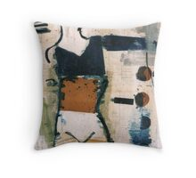 dancer 3 Throw Pillow