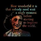 A Single Moment - Anne Frank by Daogreer Earth Works