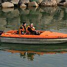 Orange boat by Segalili