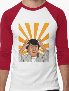 Jackie Chan Meme  Men's Baseball ¾ T-Shirt