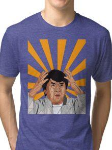 Jackie Chan Meme  Tri-blend T-Shirt
