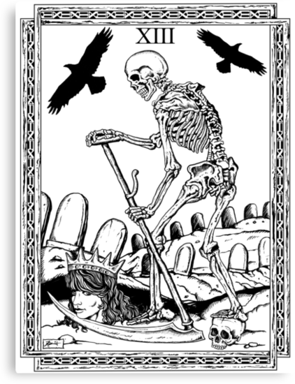 TAROT: Death by ZugArt