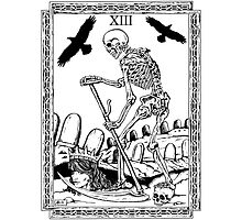 TAROT: Death Photographic Print