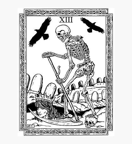 TAROT: Death Photographic Print