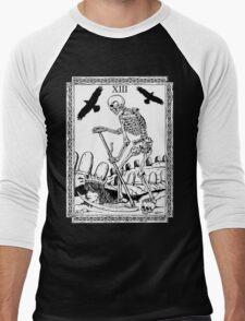 TAROT: Death Men's Baseball ¾ T-Shirt