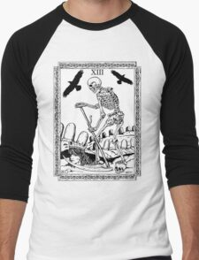 TAROT: Death Men's Baseball ¾ T-Shirt