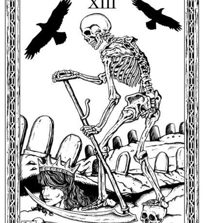 TAROT: Death Sticker