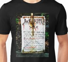 Jack the Ripper Walk Unisex T-Shirt