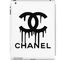 Drip Chanel Logo iPad Case/Skin