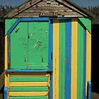 'Kate's place' beach hut by Graham McAndrew
