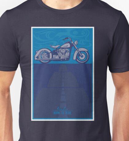 vintage harley poster  Unisex T-Shirt