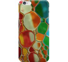 oil bubbles on water iPhone Case/Skin