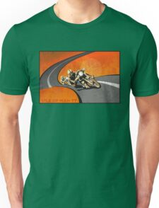 retro motorcycle Isle of Man TT poster Unisex T-Shirt