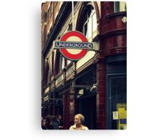 Covent Garden Underground - London Canvas Print