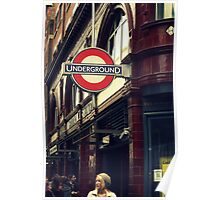 Covent Garden Underground - London Poster