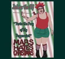Mars Hates Christmas - Jinkies Peppermint BG by perilpress